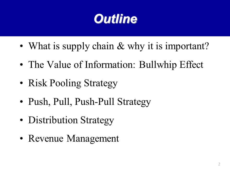 why scm strategy is important for an organization business essay Explain the term supply chain and its importance to the importance of business logistics [supply chain management [push vs pull supply chain strategy].