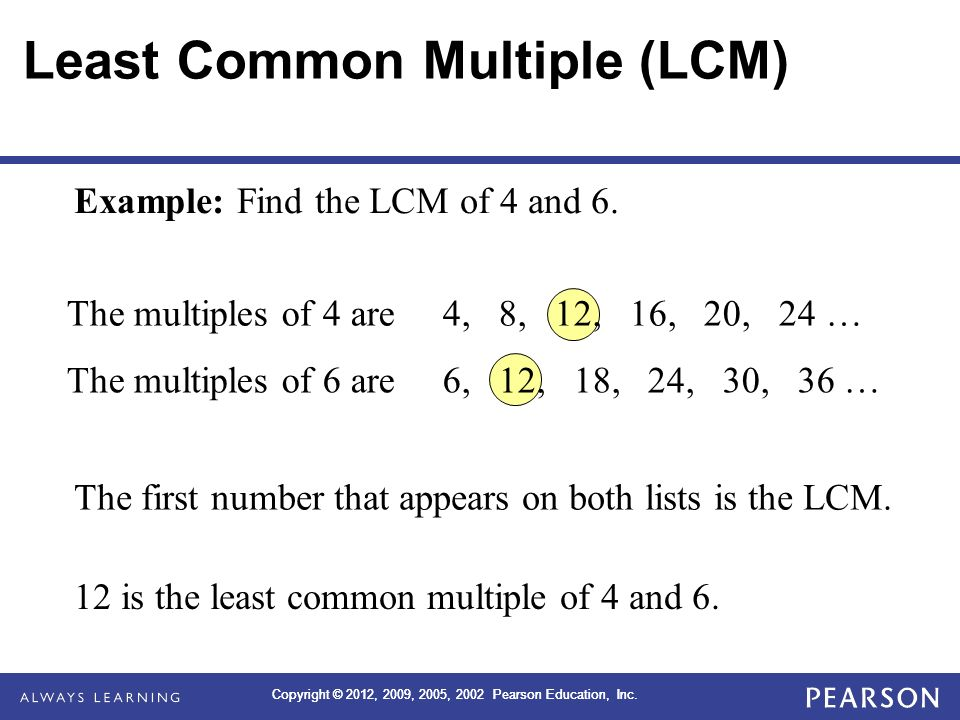 least common multiple of 12 15 and 18 dating