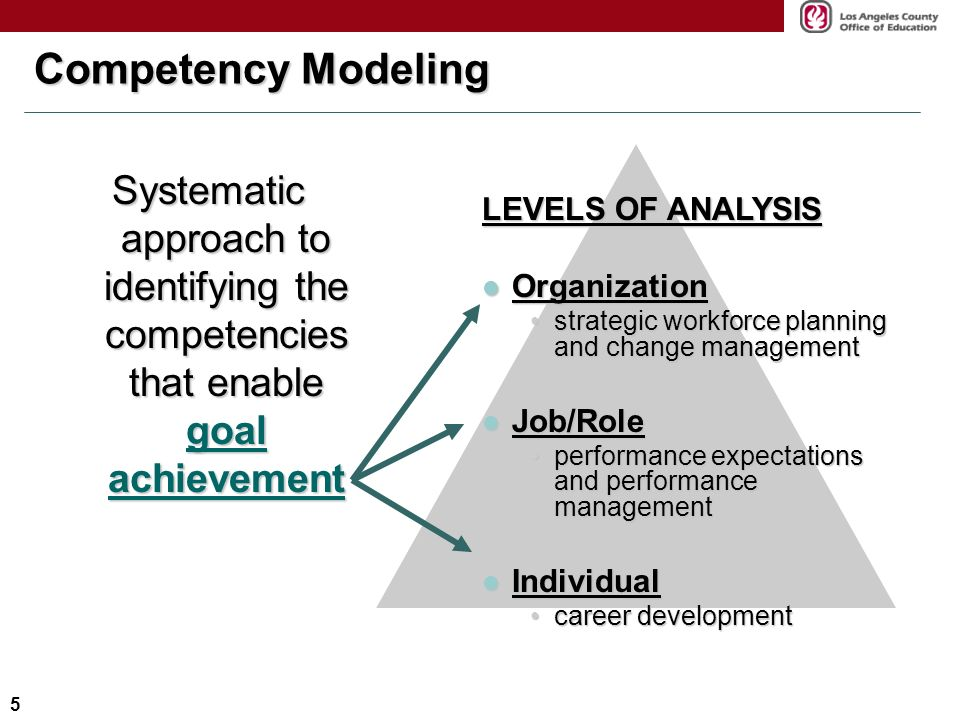Competency Framework 3g The Vocabulary Of Job Performance