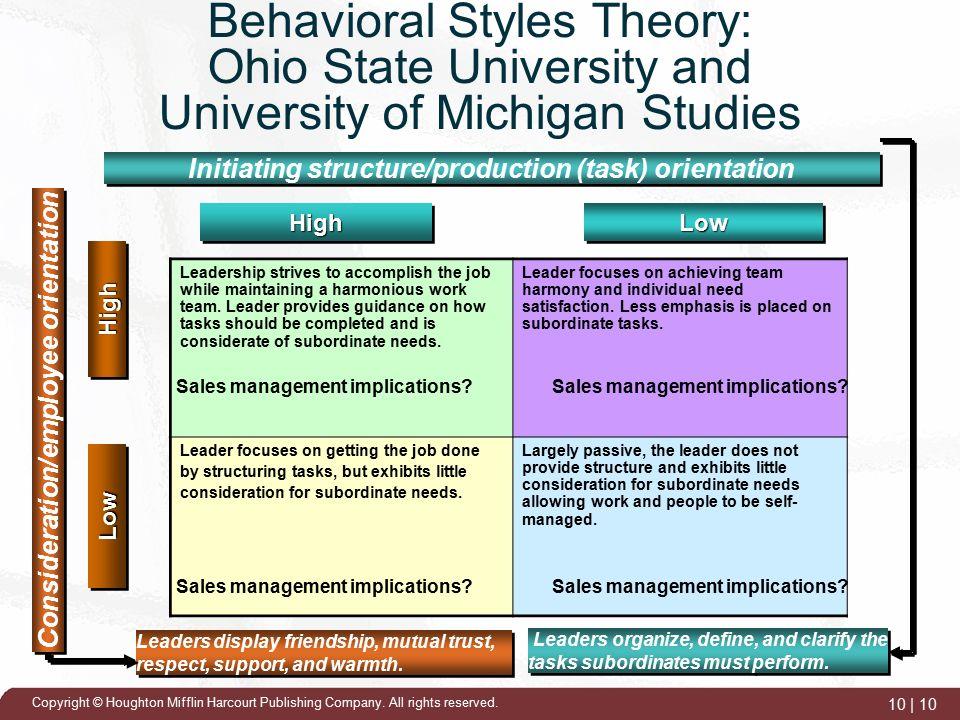 Ohio State Leadership Behaviour Theory - SlideShare