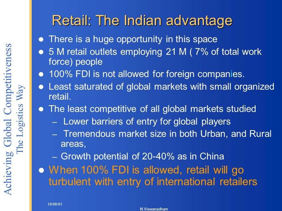 Retail: The Indian advantage