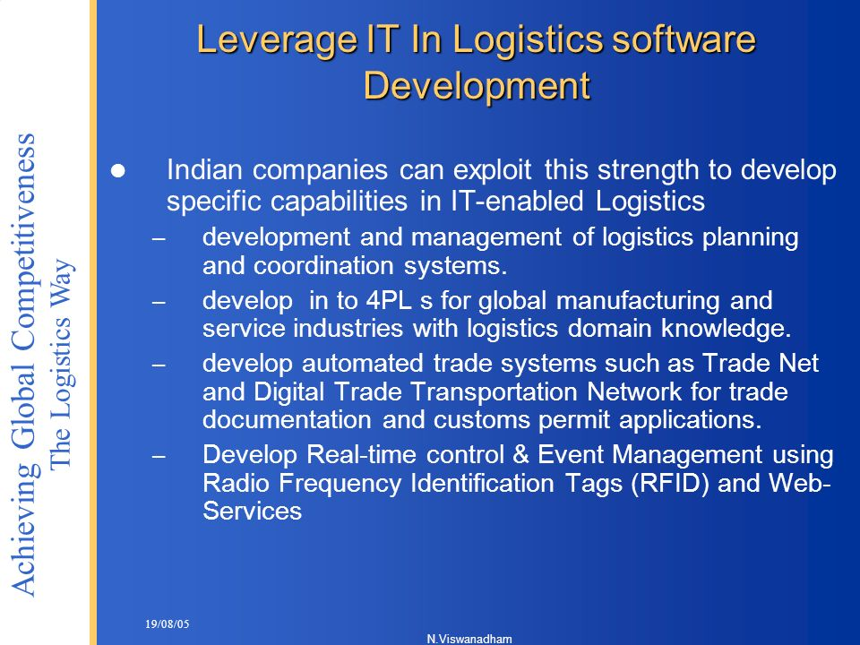 Leverage IT In Logistics software Development