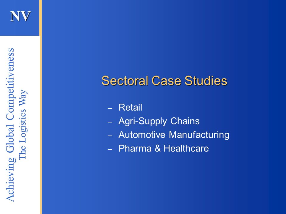 Retail Agri-Supply Chains Automotive Manufacturing Pharma & Healthcare