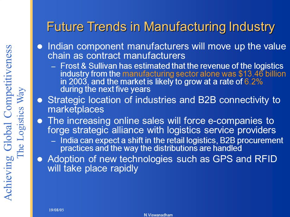 Future Trends in Manufacturing Industry