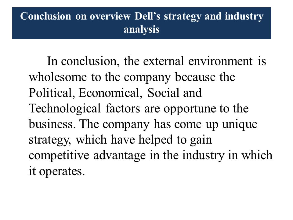 dell business information strategy In direct from dell, you'll find strategies for using the web to enhance your sales  and empower information throughout your business if you want to capitalize on.