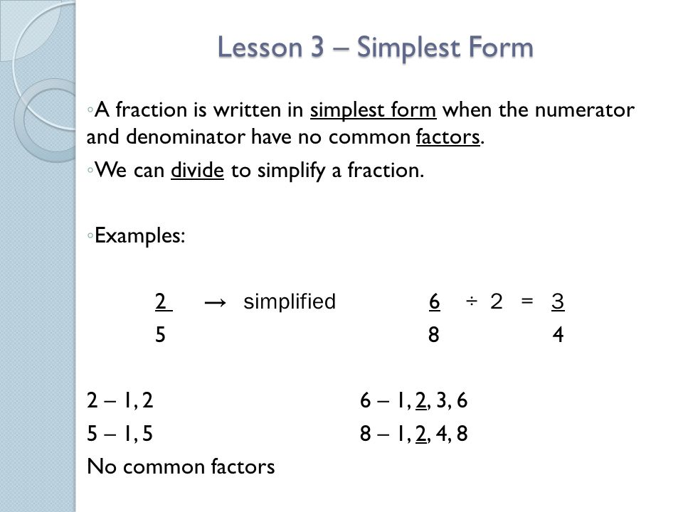 Fractions and Decimals - ppt video online download