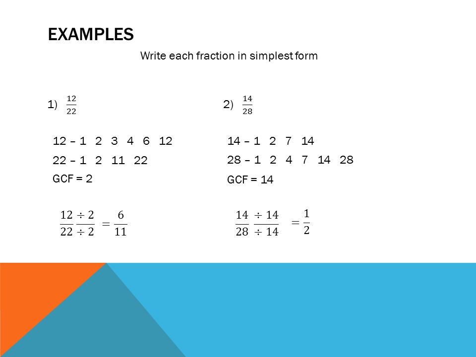 Number Theory and Fractions - ppt video online download