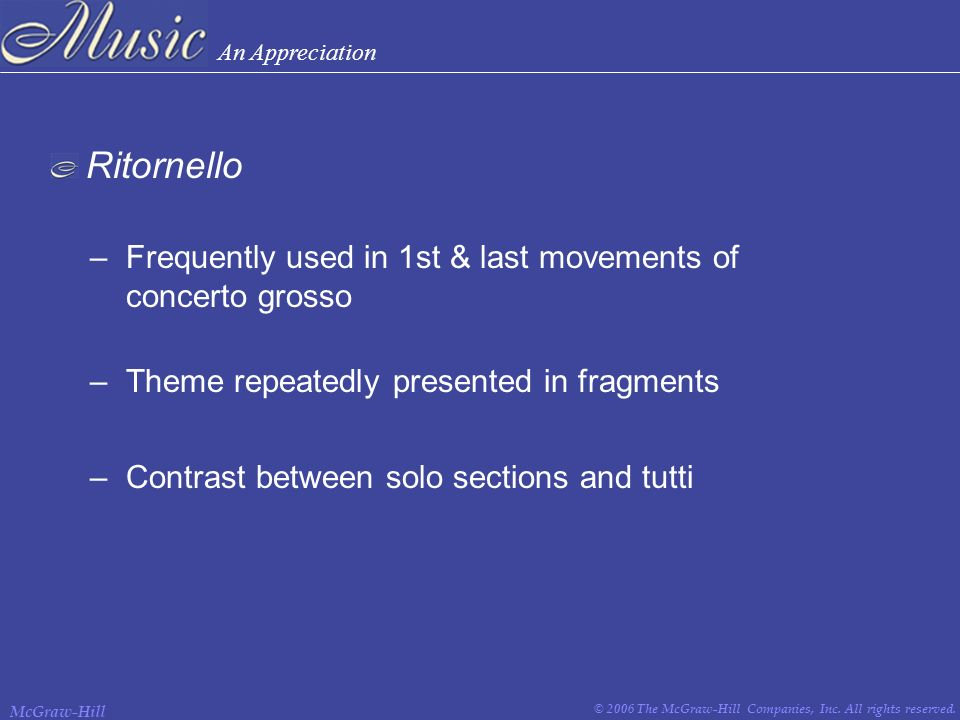 III The Baroque Period ( ). - ppt download