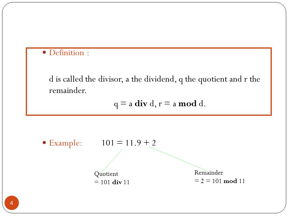 Cse 504 discrete mathematics foundations of computer science ppt video online download - Div computer science ...