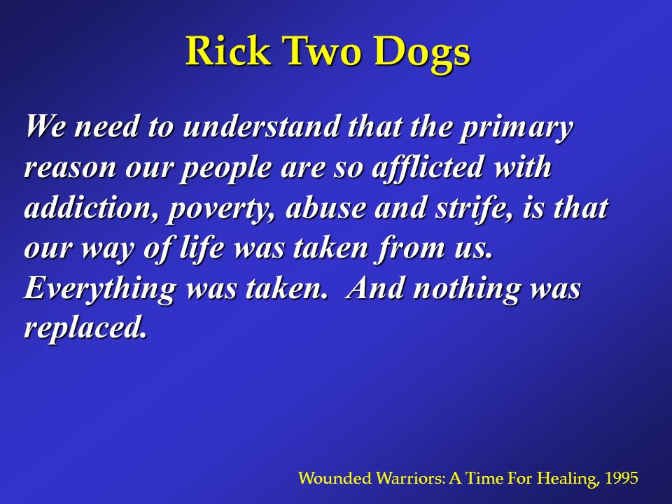 Rick Two Dogs