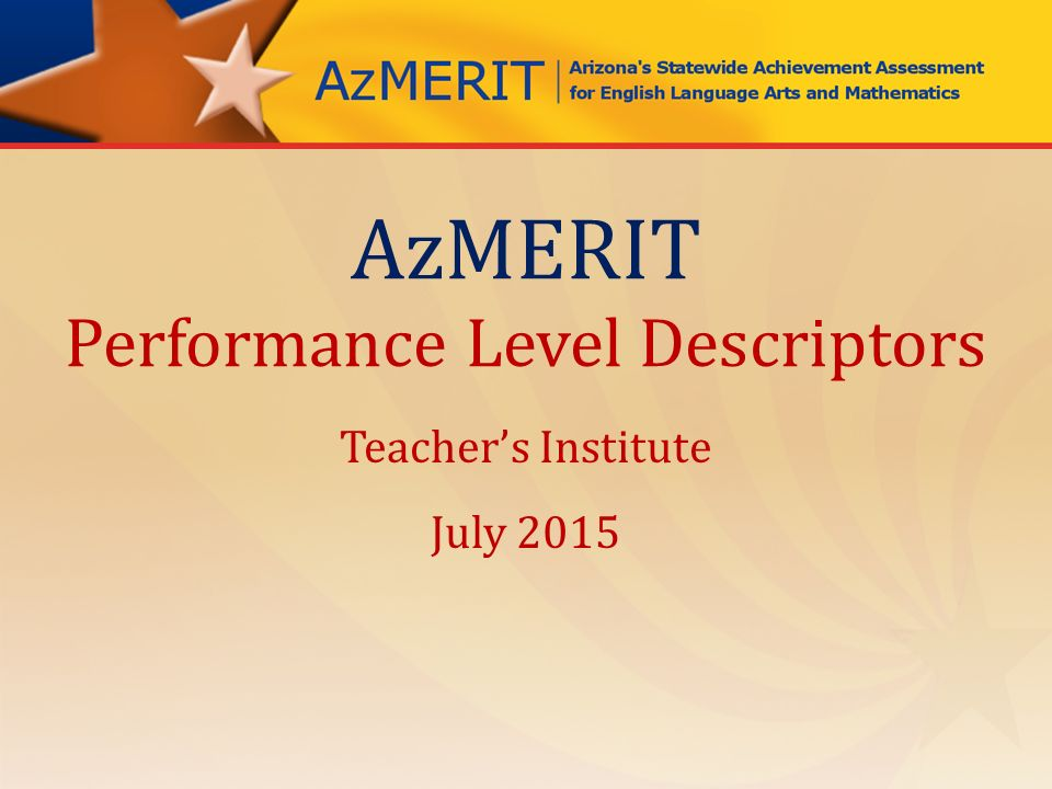teacher s level of performance in the Developing performance is a journey, and level of performance describes location in the journey current level of performance depends holistically on 6 components: context, level of knowledge, levels of skills, level of identity, personal factors, and fixed factors.
