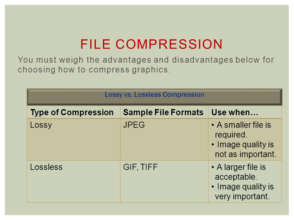 how to make a tiff file smaller