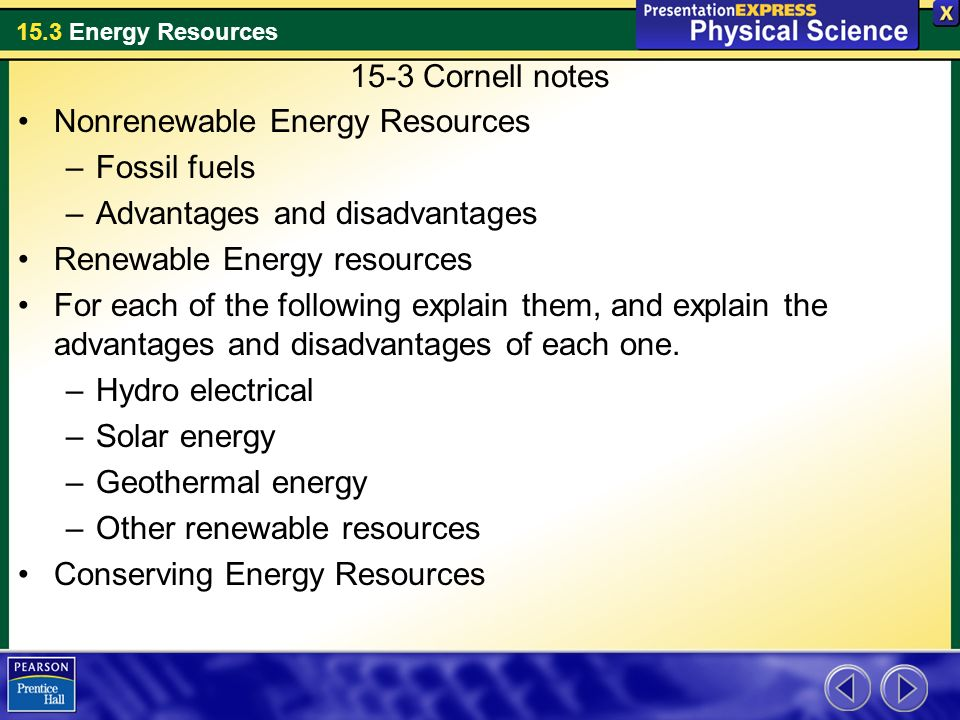 renewable energy resources and their limitations essay