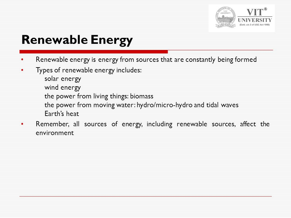 paper presentation on renewable sources Pdf | renewable energy sources and technologies have potential to  in this  paper, efforts have been made to summarize the availability,.