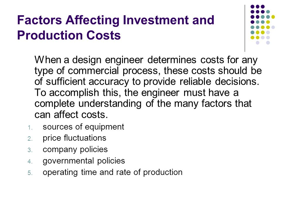 subway production factors and costs From mass transit to new manufacturing  to both support subway production and diversification efforts  federal government could cover the increased costs of.