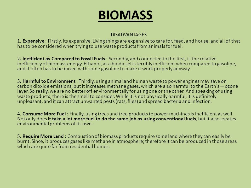 Biomass Bioconversion To Mixed Alcohol Fuels ~ Wind energy advantages ppt video online download