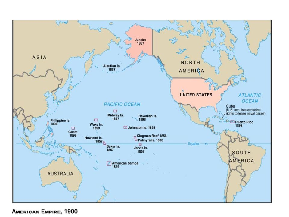 Lesson Expanding Overseas Ppt Download - Map us territories guam puerto rico
