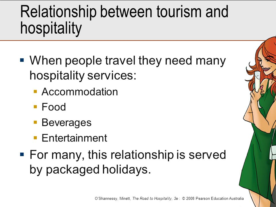 relationship between and hospitality industry