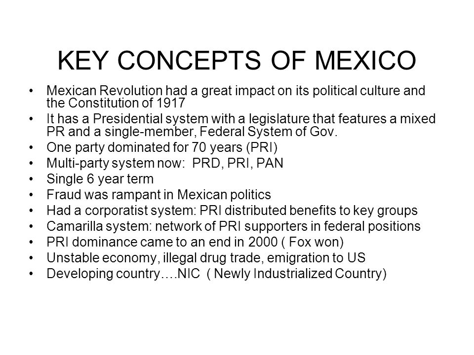 Mexican constitution proclaimed
