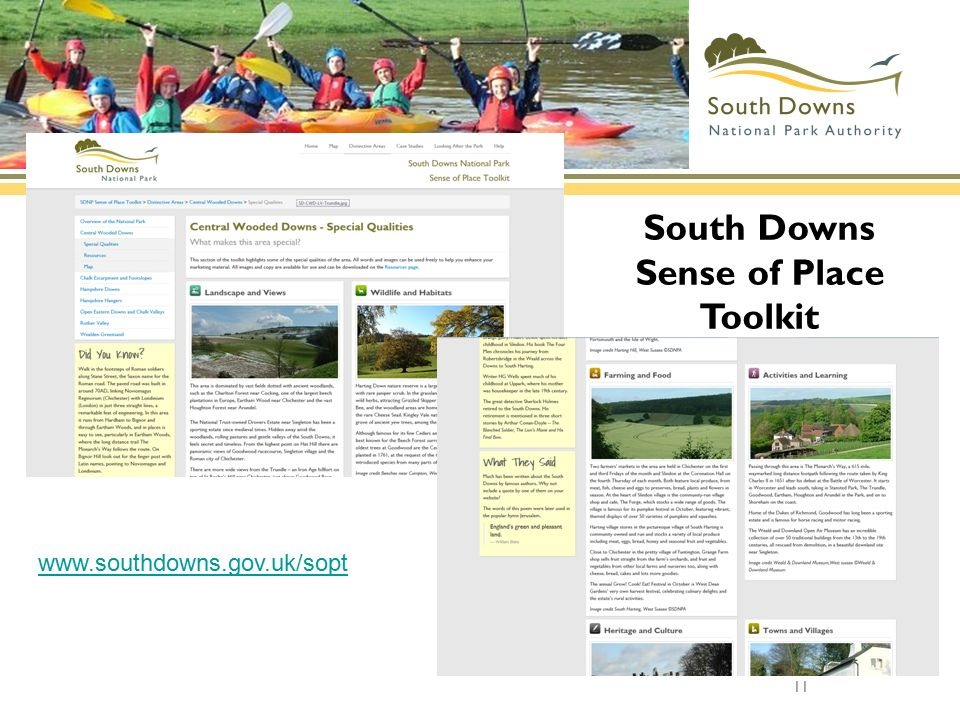 South Downs Sense of Place Toolkit