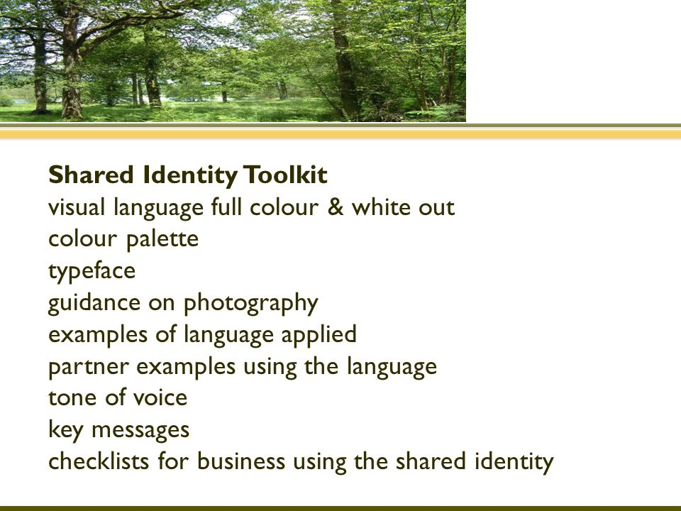 Shared Identity Toolkit