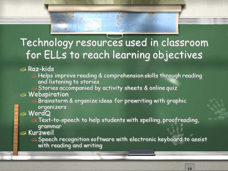 English Classroom Design Ideas ~ Digital literacy and english language learners ppt download