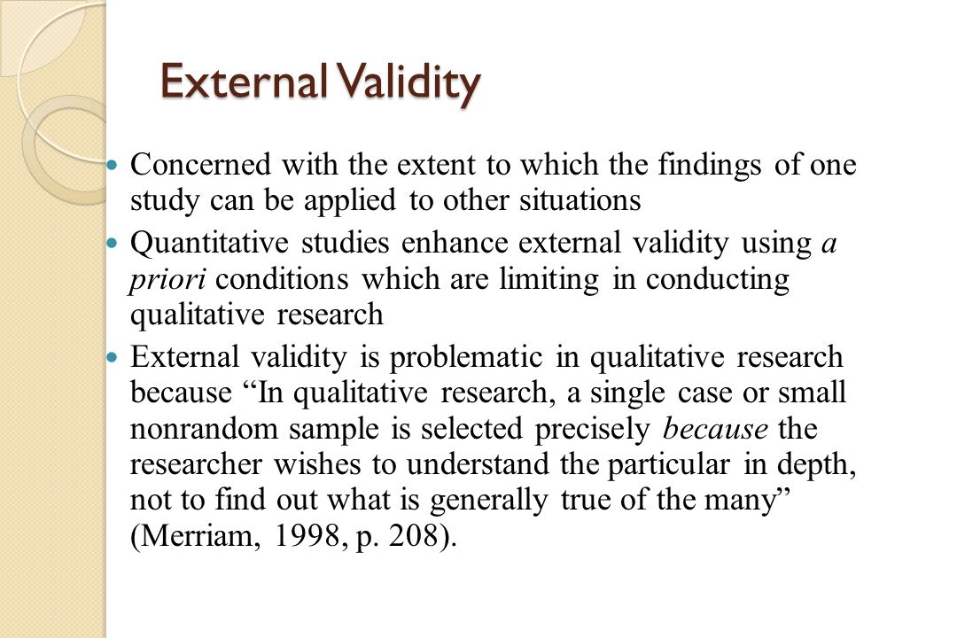 Chapter 7.4 Experimental Validity | AllPsych