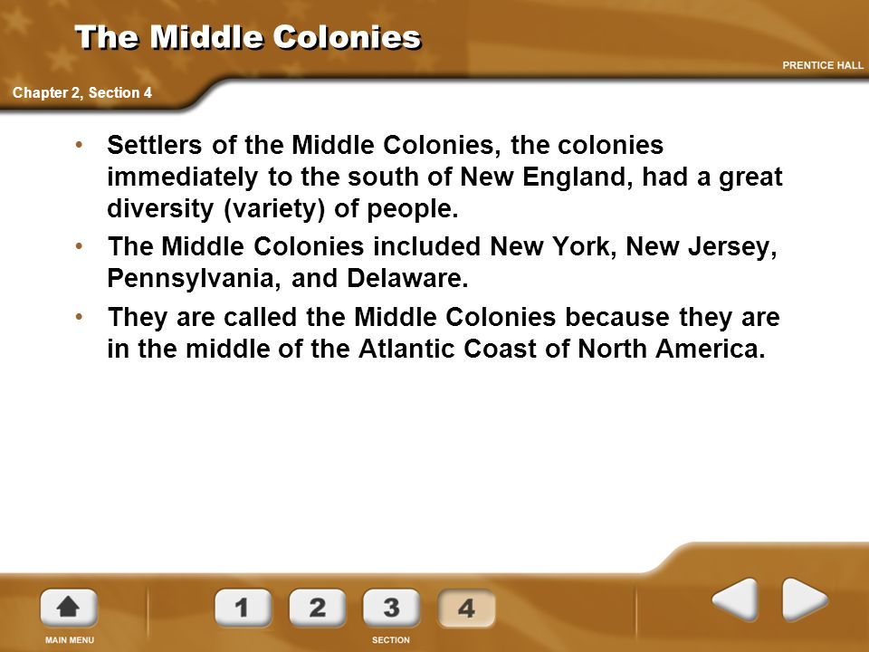 5th Grade Social Studies, Chapter 6 Middle and Southern Colonies