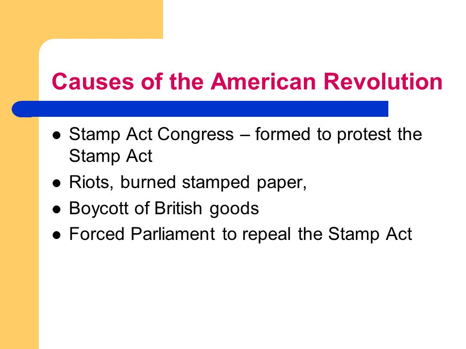 british oppression the cause of the american revolution essay Read this full essay on causes and effects of the american revolution both the  british and the american colonists contributed to causing the american  the title  american revolution holds within it the ideas of freedom from oppression,.