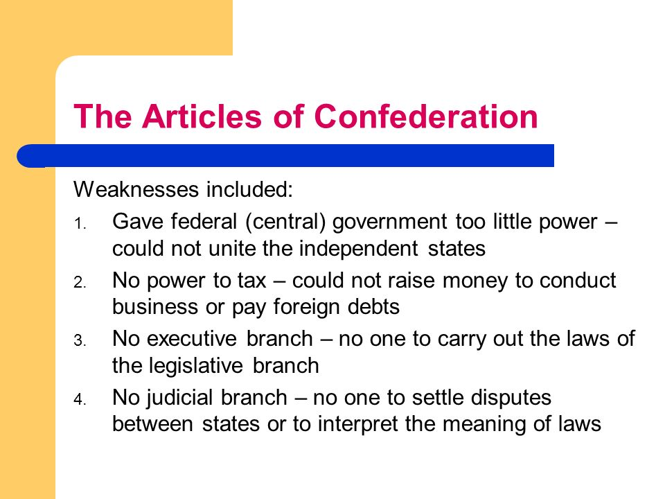an introduction to the history of the articles of confederation in the united states Constitution of the united states—a history  the articles of confederation  web version based on the introduction by roger a bruns to a more perfect union .