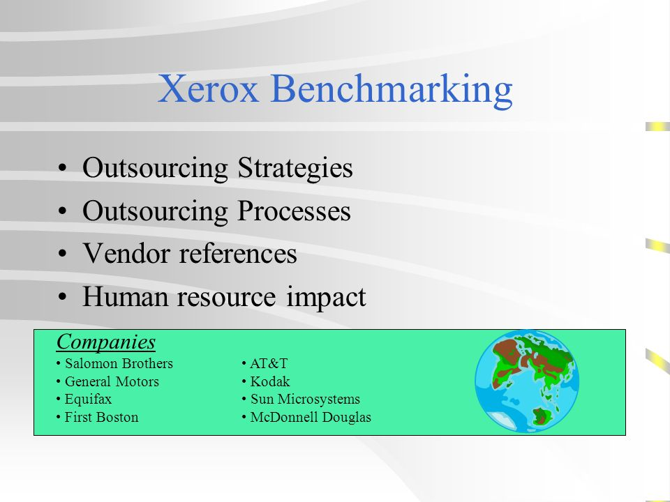 Outsourcing Global Information Technology Resources Ppt
