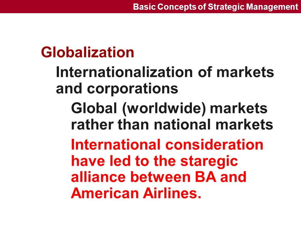 impact of internationalisation of business markets Expand their business into foreign market, even on the first day the internationalization theory and malaysian small companies begin internationalization process in markets that have less psychic distance.