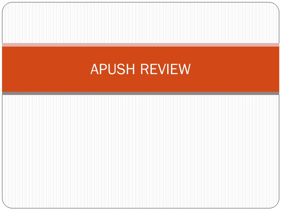 Chronology of APUSH Reviewed - YouTube