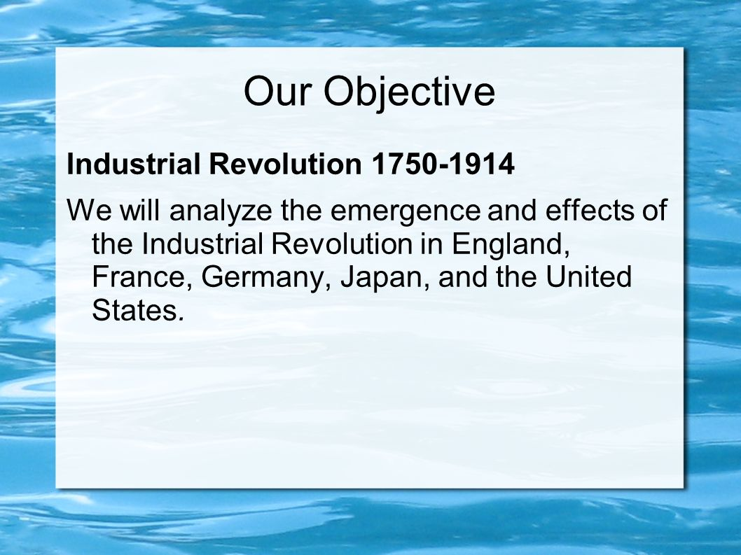 the impact of the industrial revolution on france and england Influence of the french revolution the french revolution had and a safe haven for royalists and other counterrevolutionaries to outlast the violence of the french revolution the long-term impact on france was profound, shaping politics especially in industrial production.