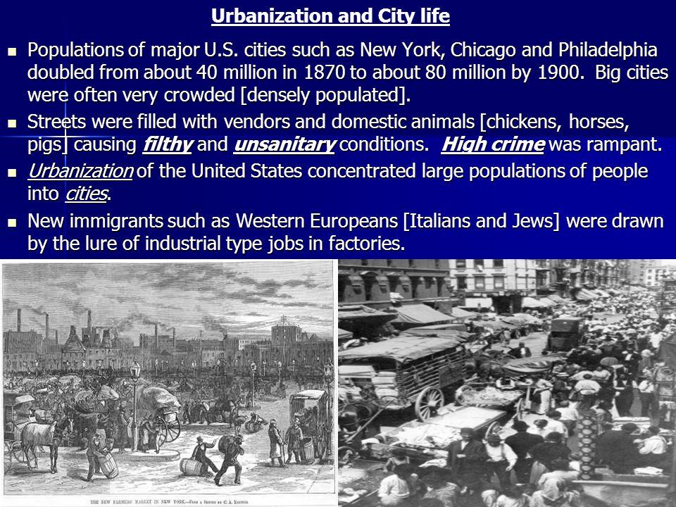 Urbanization and City life