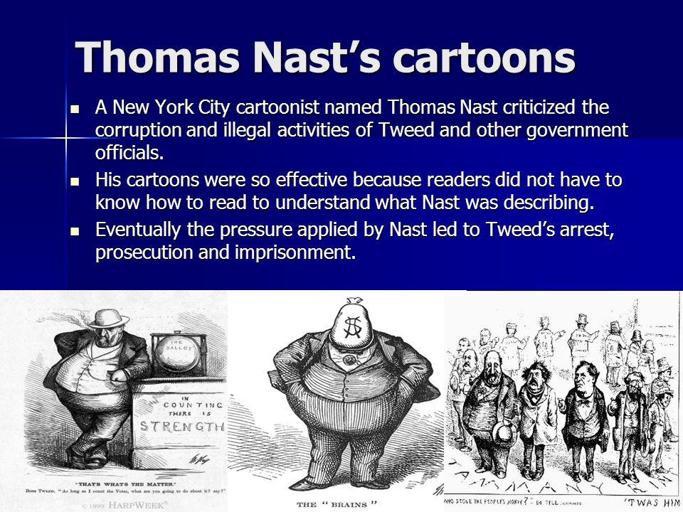 Thomas Nast's cartoons