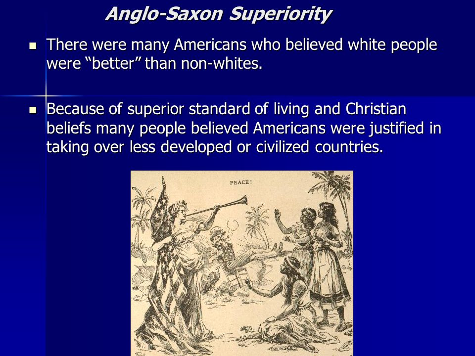 Anglo-Saxon Superiority