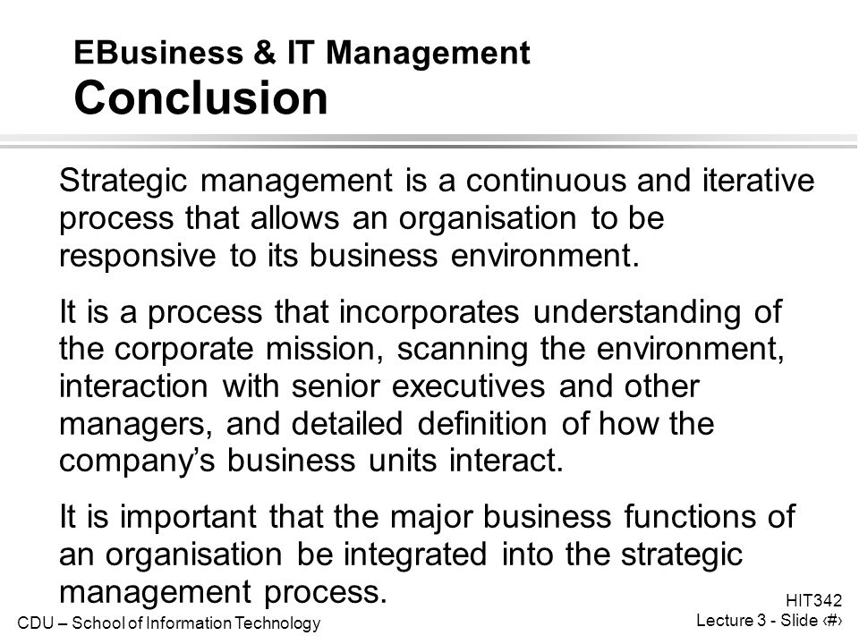 conclusion of business Advice on how to write a conclusion to different types of documents including avoidance of mistakes that commonly occur and the length of the conclusion.
