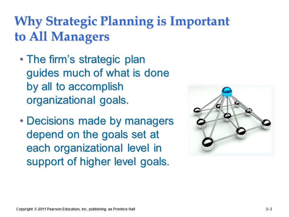 why strategy is important to an Strategic planning is important to an organization because it provides a sense of  direction and outlines measurable goals strategic planning is.
