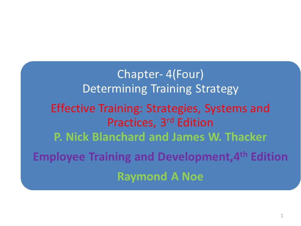 employee training and development 1 Noe0490x_fmqxd 7/1/08 11:11 am page xiii chapter 1 introduction to employee training and development 1 forces affecting the workplace make training a key ingredient for company success 1 introduction.