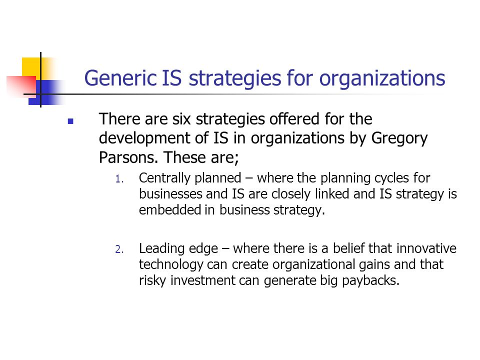 """strategic groups strategic choices generic strategies We believe that the application of concepts such as """"strategic fit"""" (between resources and opportunities), """"generic strategies"""" (low cost versus differentiation versus focus), and the."""