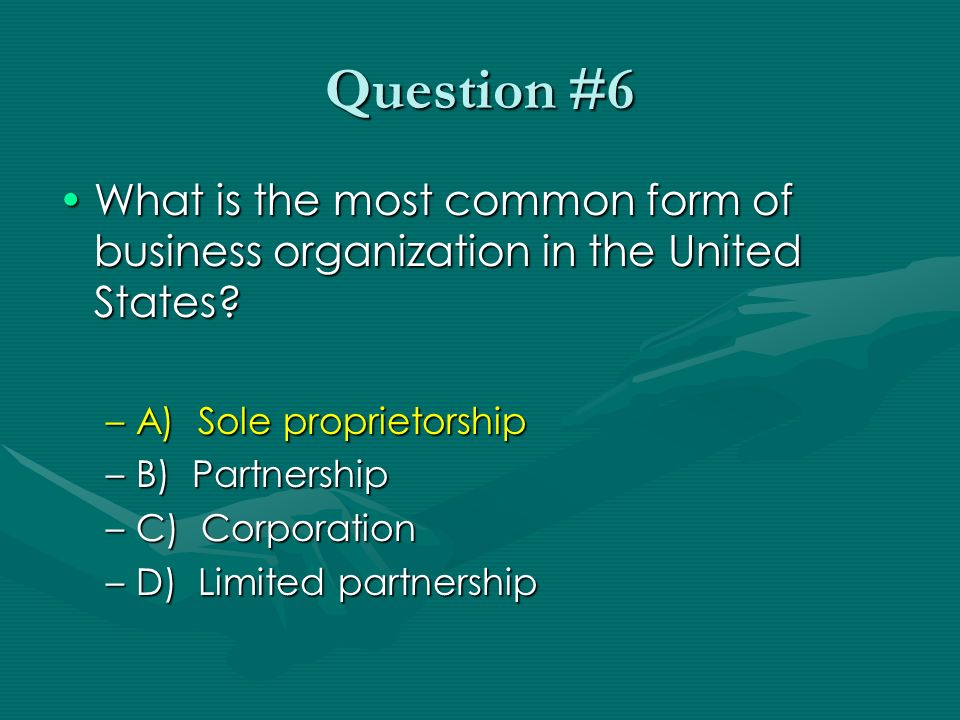Business Organizations and Economic Institutions - ppt download