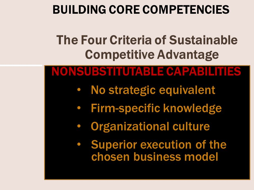In Good Company: How Company Culture can be a Competitive Advantage