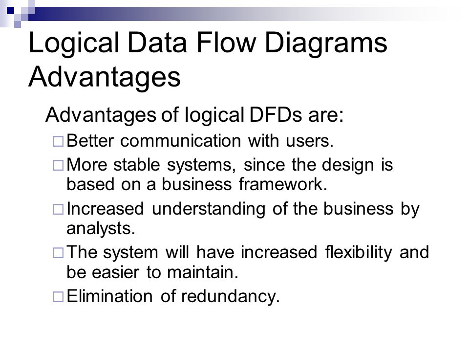 logical data flow diagrams advantages - Software Engineering Data Flow Diagram