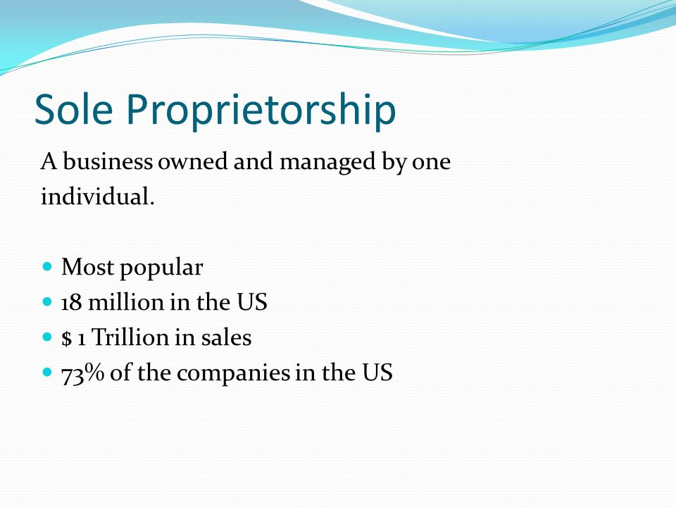 How to Make a Business Plan for a Sole Proprietorship