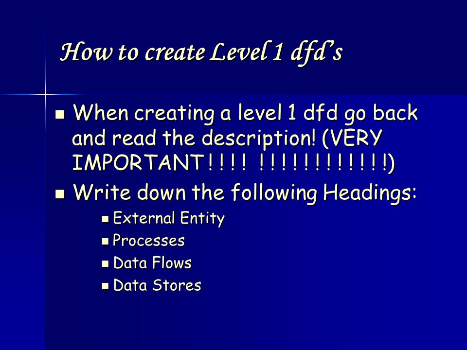 An introduction to level 0 and level 1 dfd s ppt video for Create dfd online