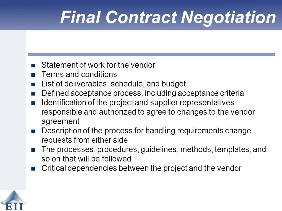 Effective project management traditional agile extreme for Vendor terms and conditions template
