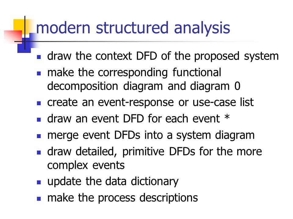 40 modern structured analysis - Use Case Context Diagram