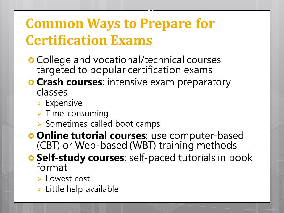 ways to prepare for examination This is a top ten list of things to consider before you receive a notice from consumer financial protection bureau (cfpb) regarding an examination.