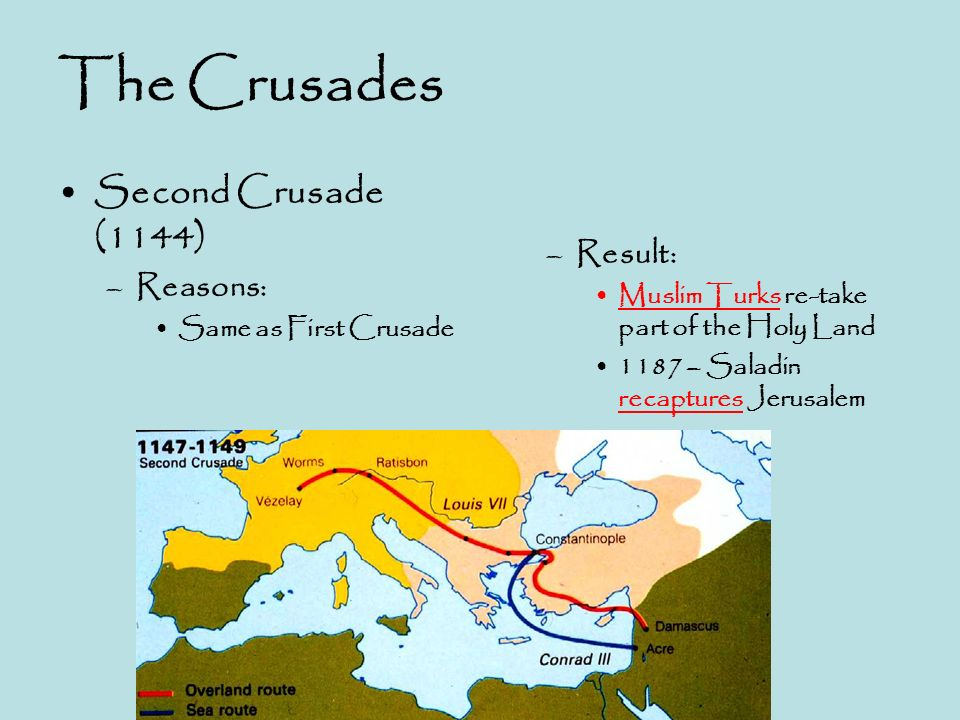 the reasons why the third crusade failed The campaign was a dismal failure because the muslims had regrouped  by  the end of the third crusade (1189–92), crusader forces had gained cyprus and .